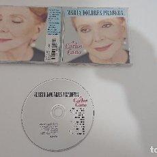 CDs de Música: MARIA DOLORES PRADERA (A CARLOS CANO) CD 2001. Lote 183795182