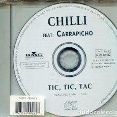 CDs de Música: CHILLI (CARRAPICHO) / TIC,TIC,TAC (CD SINGLE BMG 1997). Lote 183795767