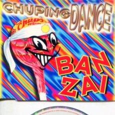 CDs de Música: CHUPING DANCE / CHUPA CHUPS BANZAI (4 VERSI9ONES) CDMAXI BIT 1996. Lote 183796381
