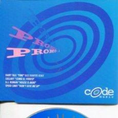 CDs de Música: CODE MUSIC PROMO 1 (CDMAXI 4 TEMAS PROMO 1996). Lote 183796847