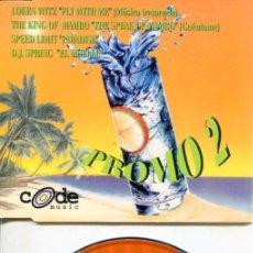 CDs de Música: CODE MUSIC PROMO 2 (CDMAXI 4 TEMAS PROMO 1998). Lote 183796970