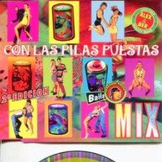 CDs de Música: CON LAS PILAS PUESTAS MIX (ALEX & BER) / CDMAX PROMOI ENVIDIA 2001. Lote 183797288