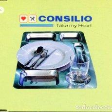 CDs de Música: CONSILIO / TAKE MY HEART (4 VERSIONES) CDMAXI VALE MUSIC. Lote 183797660