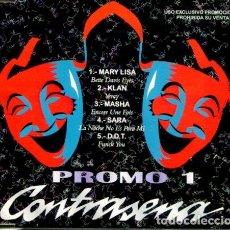 CDs de Música: CONTRASEÑA PROMO 1 (CDMAXI PROMO 1997). Lote 183797875