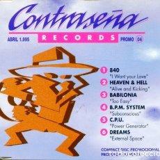CDs de Música: CONTRASEÑA PROMO 04 (6 TEMAS) CDMAXI PROMO 1995). Lote 183798926