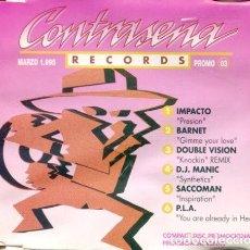 CDs de Música: CONTRASEÑA PROMO 03 (6 TEMAS) CDMAXI PROMO 1995). Lote 183798970