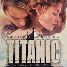 CDs de Música: CD JAMES HORNER - TITANIC B.S.O., EU 1997, SONY CLASSICAL – SK 63213, MUY BUEN ESTADO(VG+_VG+). Lote 183811113