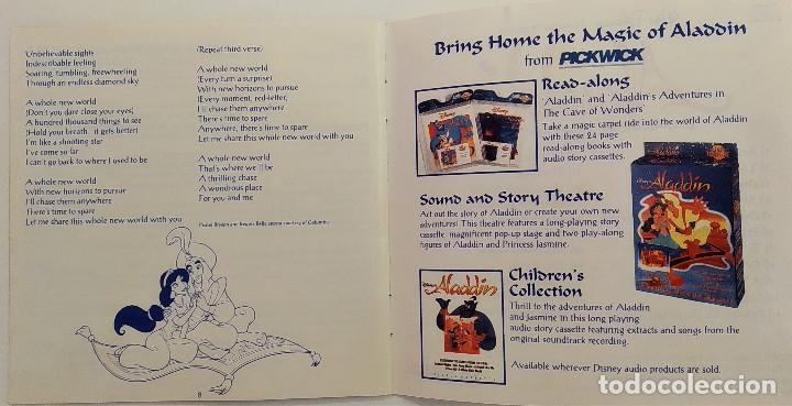 CDs de Música: CD ALADDIN (BSO), Alan Menken, Howard Ashman, Tim Rice, UK 1992,Pickwick Records–DSTCD 470 (EX_EX) - Foto 8 - 183815160