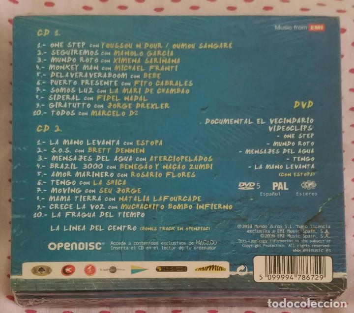 CDs de Música: MACACO (EL VECINDARIO) 2 CD's + DVD 2010 - MANOLO GARCIA, ESTOPA, FITO, NATALIA LAFOURCADE... - Foto 2 - 183816596