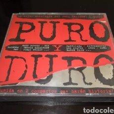 CDs de Música: PURO Y DURO - POLYMEDIA  - 2 CD´S - RECOPILATORIO ROCK NACIONAL E INTERNACIONAL - ESPAÑA - 1998. Lote 183826231