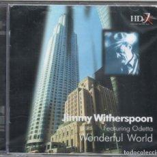 CDs de Música: JIMMY WHITERSPOON: WONDERFUL WORLD. NUEVO PRECINTADO. Lote 183826435
