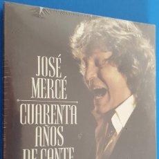 CDs de Música: CD TRIPLE / JOSE MERCE CUARENTA AÑOS DE CANTE, 2014 NUEVO Y PRECINTADO. Lote 183827226