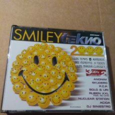CDs de Música: SMILEY TEKNO 2000 3CDS ***MUY RARO***. Lote 183831902