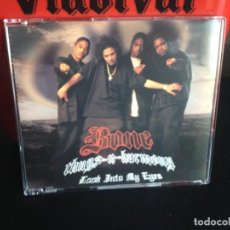 CDs de Música: BONE THUGS-N-HARMONY - LOOK INTO MY EYES / - CD SINGLE PROMO MADE IN USA 1997. Lote 183848740