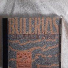 CDs de Música: CD MANUEL MORAO - GITANOS DE JEREZ - BULERIAS EN COMPAS DE ORIGEN. Lote 183862941