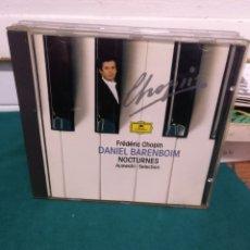 CDs de Música: BARENBOIM, CHOPIN NOCTURNES.. Lote 183864505