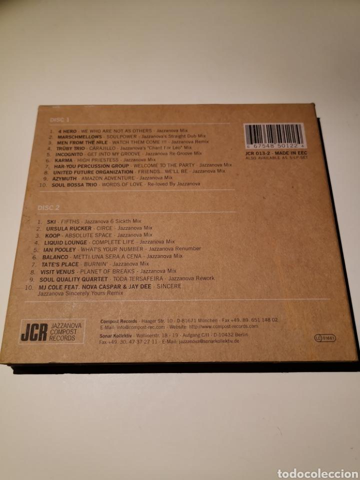 CDs de Música: JAZZANOVA 2CD THE REMIXES 1997-2000 - Foto 2 - 183865121