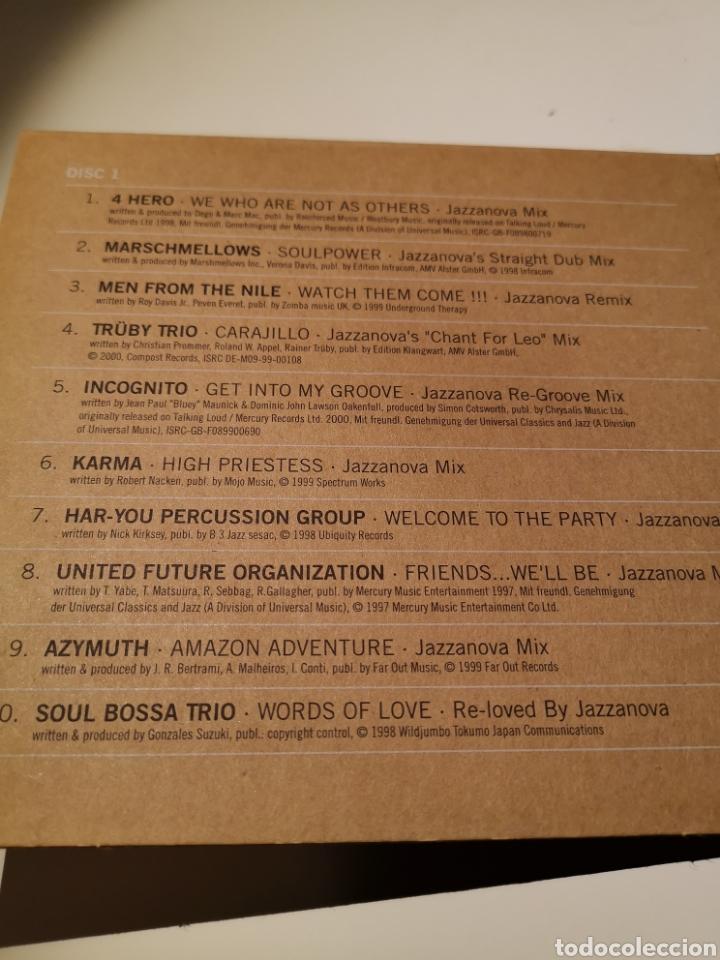 CDs de Música: JAZZANOVA 2CD THE REMIXES 1997-2000 - Foto 3 - 183865121