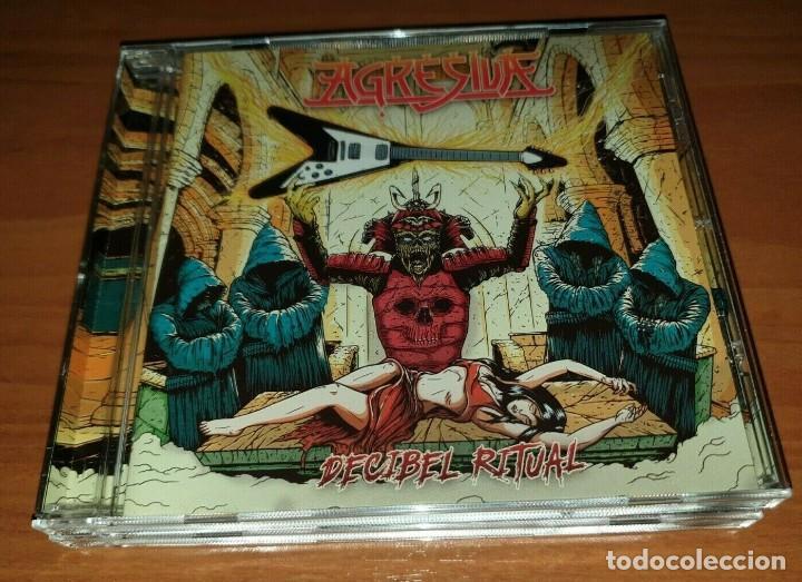 AGRESIVA –DECIBEL RITUAL CD 2017 SPANISH THRASH METAL -MURO-METALLICA-FUCK OFF (Música - CD's Heavy Metal)