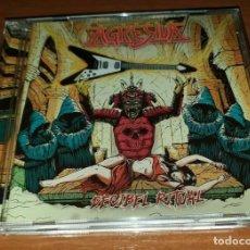 CDs de Música: AGRESIVA –DECIBEL RITUAL CD 2017 SPANISH THRASH METAL -MURO-METALLICA-FUCK OFF. Lote 183866888
