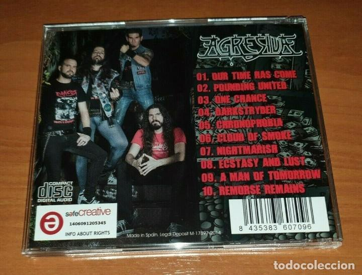 CDs de Música: AGRESIVA – THE CRIME OF OUR TIME spanish thrash metal -MURO-METALLICA-FUCK OFF - Foto 2 - 183866940