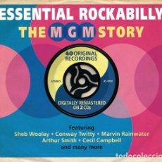 CDs de Música: ESSENTIAL ROCKABILLY * 2CD *LTD DIGIPACK * THE MGM STORY * PRECINTADO!. Lote 183870047