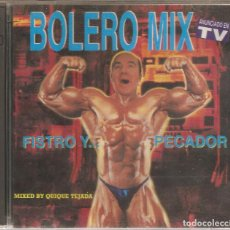 CDs de Música: BOLERO MIX - FISTRO Y PECADOR - MIXED BY QUIQUE TEJADA. Lote 183877772