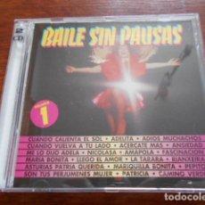 CDs de Música: 2 CD BAILES SIN PAUSAS VOL.2 Y VOL.1. Lote 183899357