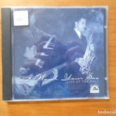 CDs de Música: CD I WANT YOUR SAX - LIVE AT THE HALL (DB). Lote 183904122