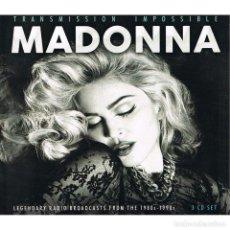 CDs de Música: MADONNA TRANSMISSION IMPOSSIBLE 3 CD . Lote 183909081