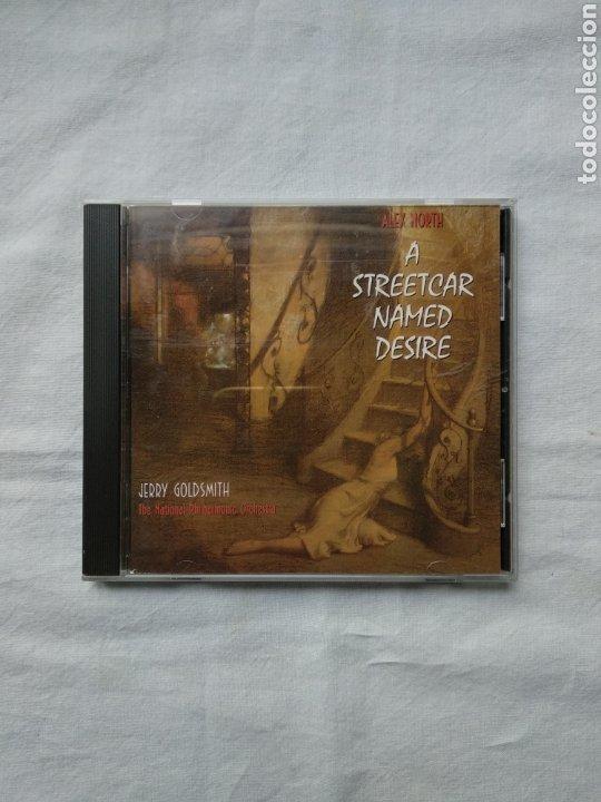 A STREETCAR NAMED DESIRE - ALEX NORTH - JERRY GOLDSMITH. VARESE SARABANDE, 1995. BANDA SONORA (Música - CD's Bandas Sonoras)