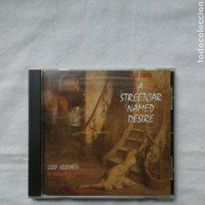 CDs de Música: A STREETCAR NAMED DESIRE - ALEX NORTH - JERRY GOLDSMITH. VARESE SARABANDE, 1995. BANDA SONORA. Lote 183912243