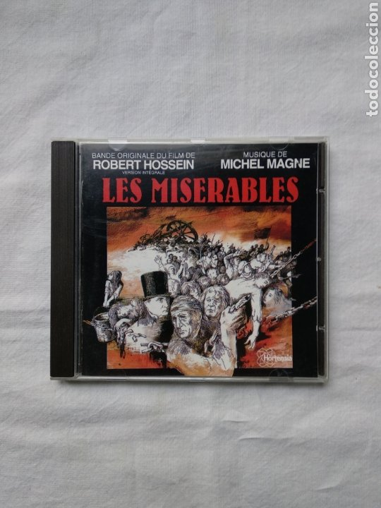 LES MISERABLES - MICHEL MAGNE. HORTENSIA BMG. (Música - CD's Bandas Sonoras)