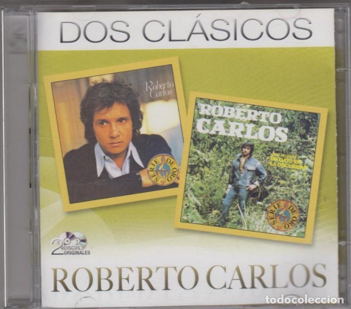 ROBERTO CARLOS DOBLE CD DOS CLÁSICOS FE / UN GATO EN LA OSCURIDAD 2012 (Música - CD's Latina)