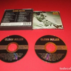 CDs de Música: GLEN MILLER - 2 CD - KBOX 206 - APRIL IN PARIS - BOOGIE WOOGIE - BABY ME - AMAPOLA -JEEP JOCKEY JUMP. Lote 183940803
