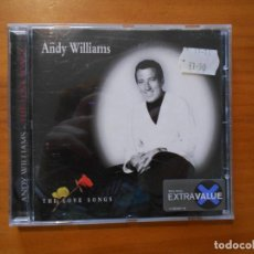 CDs de Música: CD ANDY WILLIAMS - THE LOVE SONGS (EB). Lote 183974740