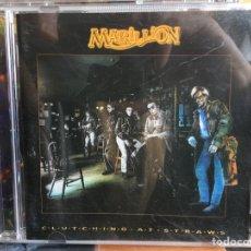 CDs de Música: MARILLION - CLUTCHING AT STRAWS (CD, ALBUM). Lote 183997682