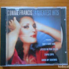 CDs de Música: CD CONNIE FRANCIS - 24 GREATEST HITS (D8). Lote 184001115