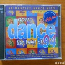 CDs de Música: CD NOW DANCE - THE BEST OF 94 (2 CD'S) (1K). Lote 184005253