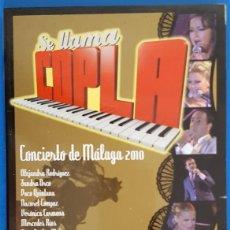CDs de Música: CD TRIPLE + DVD / VARIOS ARTISTAS / SE LLAMA COPLA / CONCIERTO DE MALAGA 2010, NUEVO. Lote 226926495