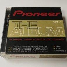 CDs de Música: JJ11 - PIONEER THE ALBUM VOL 3 3CDS - CD DISCO NUEVO A ESTRENAR . Lote 184032891