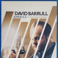 CDs de Música: CD + DVD / DAVID BARRULL / AMERICA, 2014 NUEVO. Lote 184033473