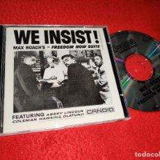 CDs de Música: MAX ROACH FREEDOM NOW SUITE CD 1989 ENGLAND. Lote 184037330