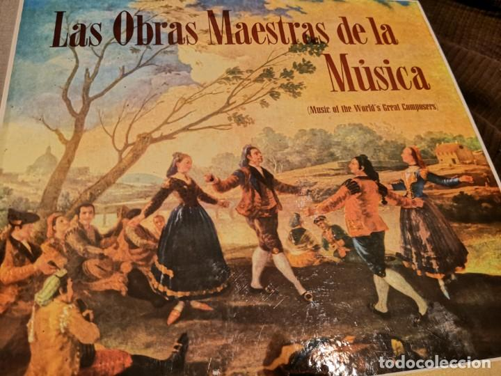 LAS OBRAS MAESTRAS DE LA MUSICA (Música - CD's Clásica, Ópera, Zarzuela y Marchas)