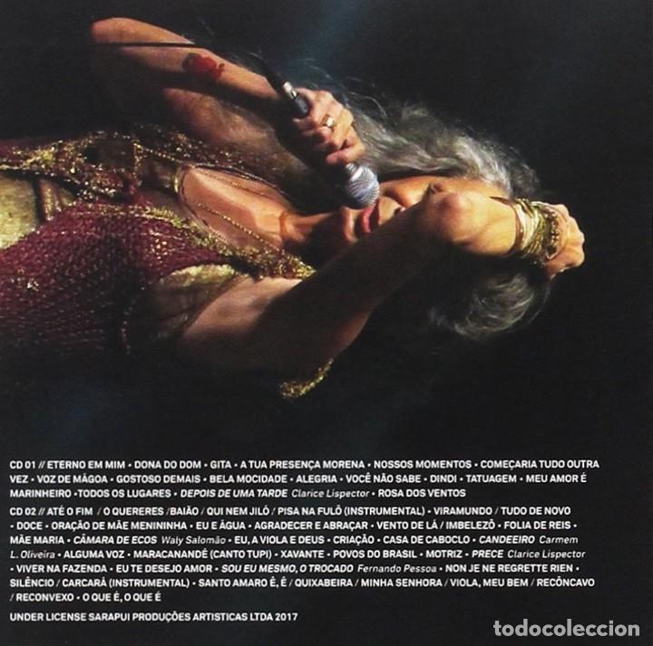 CDs de Música: Maria Bethânia – Abraçar E Agradecer - 2CD - NUEVO Y PRECINTADO - Foto 2 - 261617000