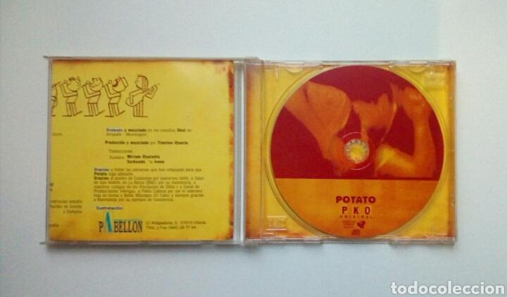 CDs de Música: Potato - PKO Original, Gasteizko langabetuen asanblada, 1997. Euskal Herria. - Foto 2 - 184061631