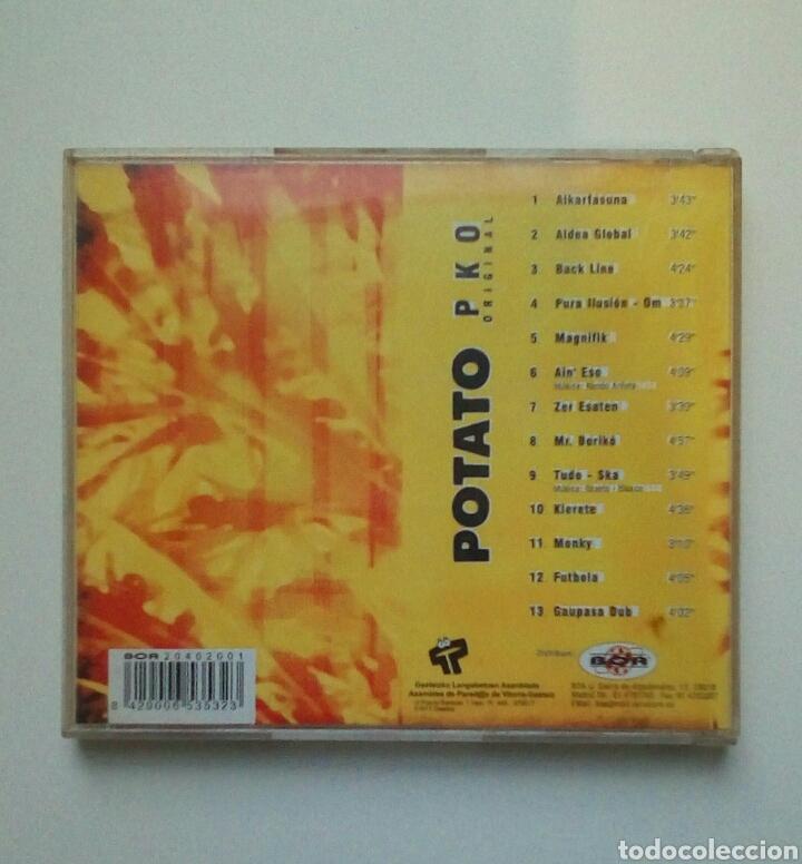 CDs de Música: Potato - PKO Original, Gasteizko langabetuen asanblada, 1997. Euskal Herria. - Foto 5 - 184061631