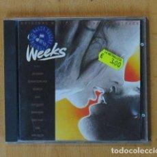 CDs de Música: VARIOS - NUEVE SEMANAS Y MEDIA - CD. Lote 184095632