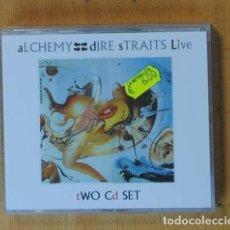 CDs de Música: ALCHEMY - DIRE STRAITS LIVE - 2 CD. Lote 184095671