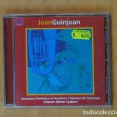 CDs de Música: JOAN GUINJOAN - JOAN GUINJOAN - CD. Lote 184095711